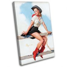 Vintage Girl Retro Pin-ups - 13-2051(00B)-SG32-PO